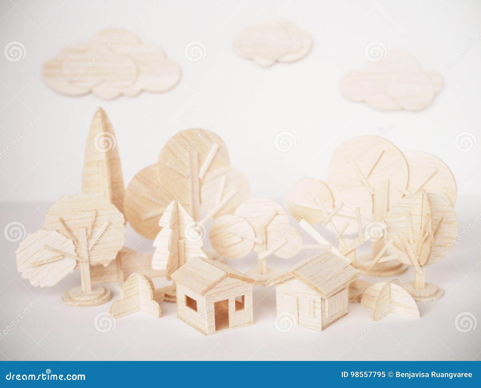 微型木式样切口艺术品工艺手工制造最小