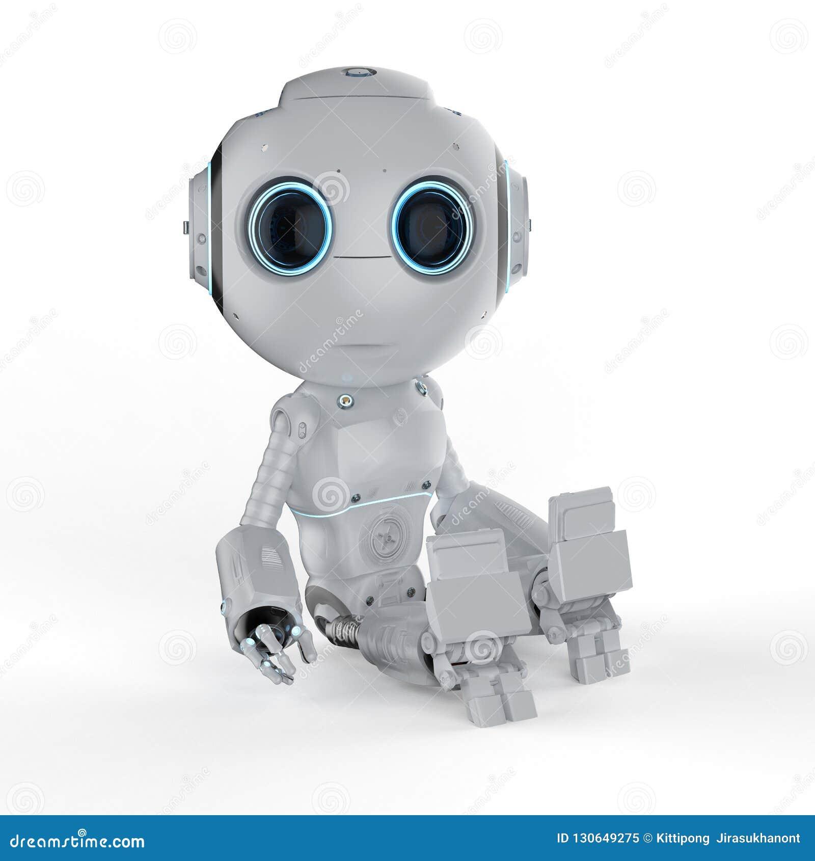 微型机器人坐