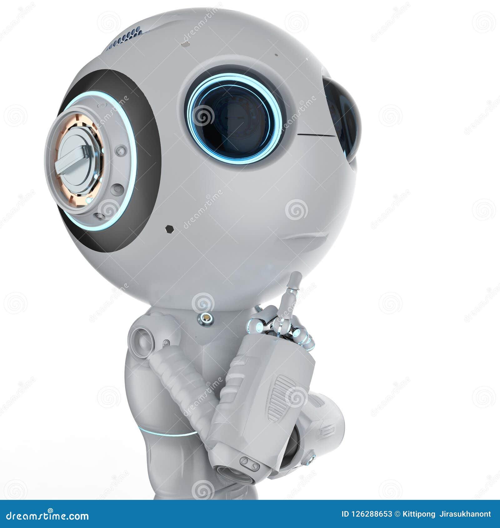微型机器人认为