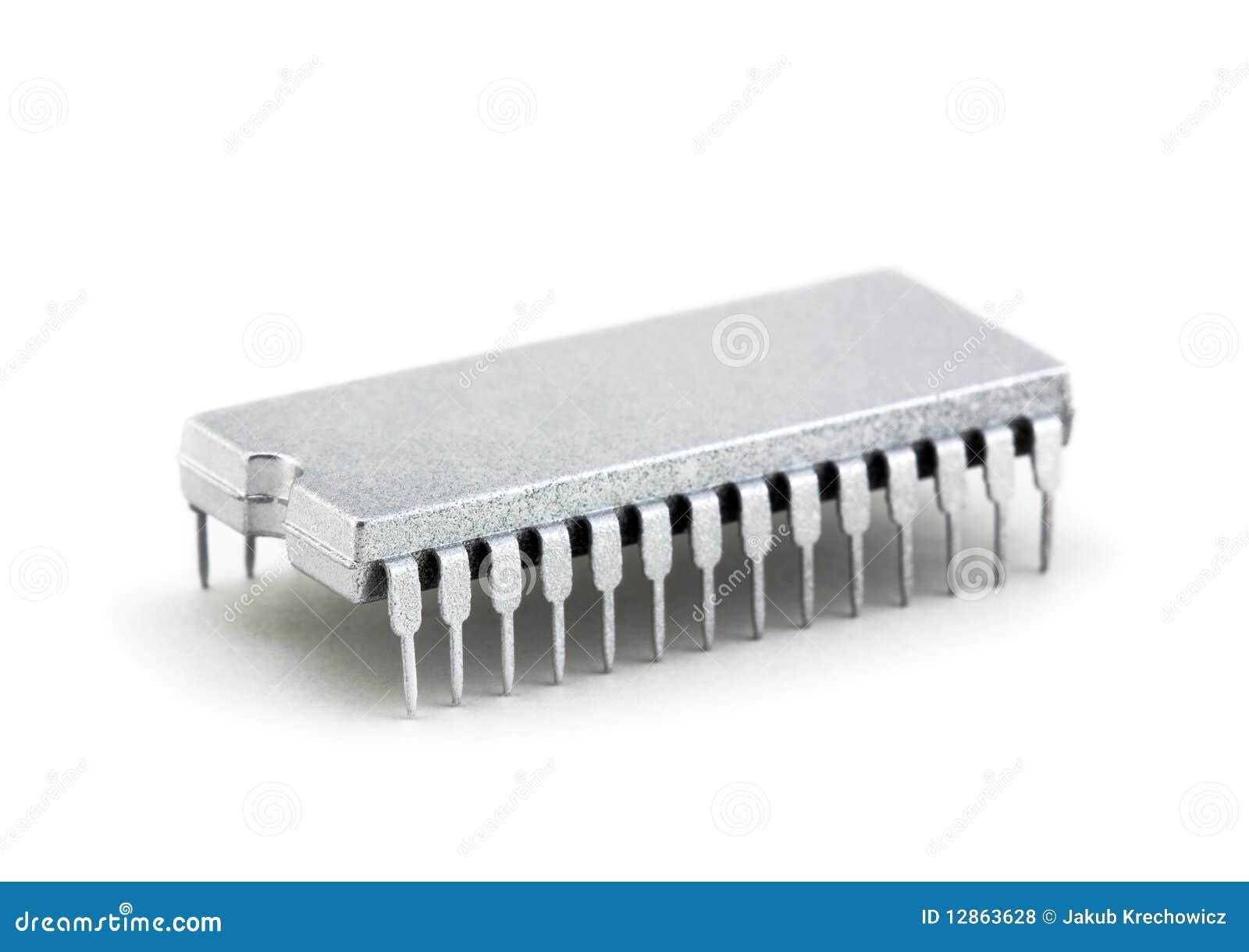 微处理器银