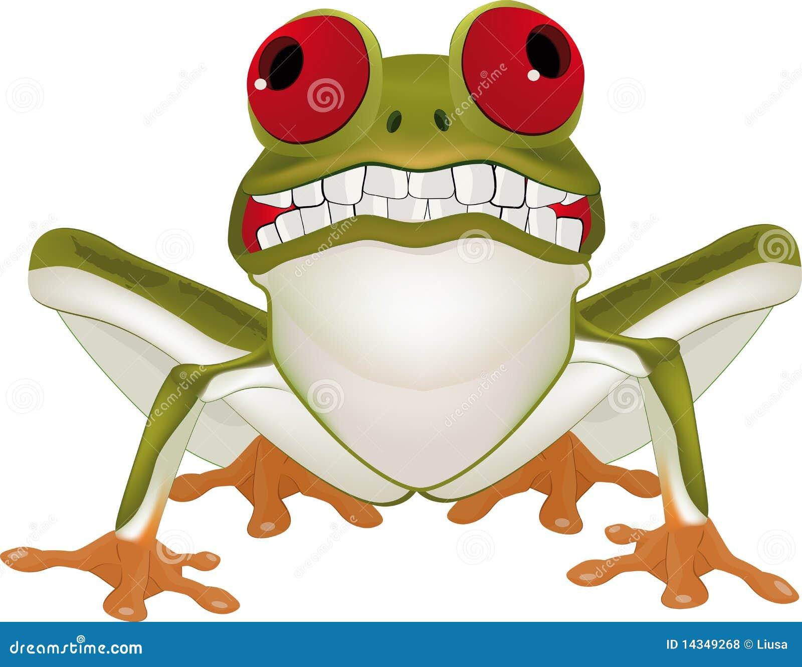 微笑的青蛙
