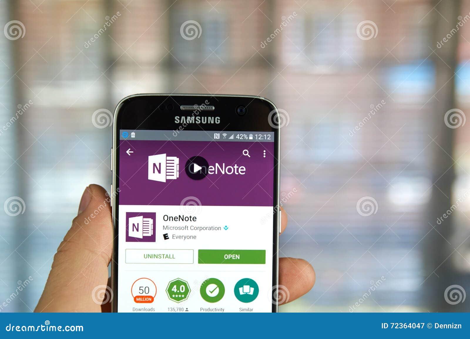 微软办公软件OneNote app