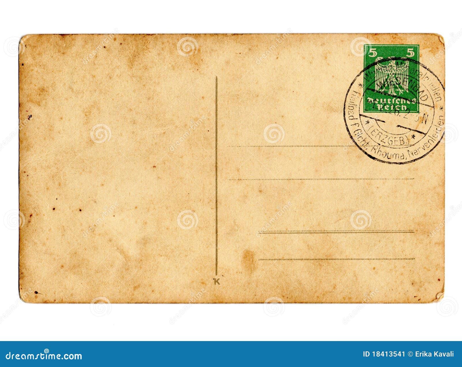 德国明信片德国政府