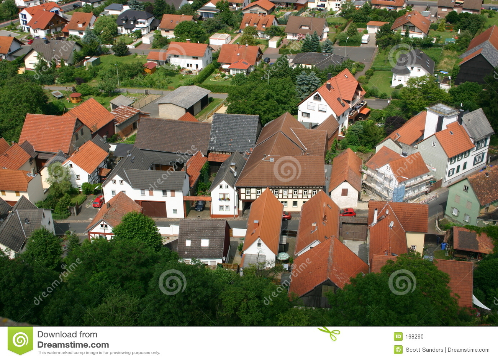 德国视图村庄