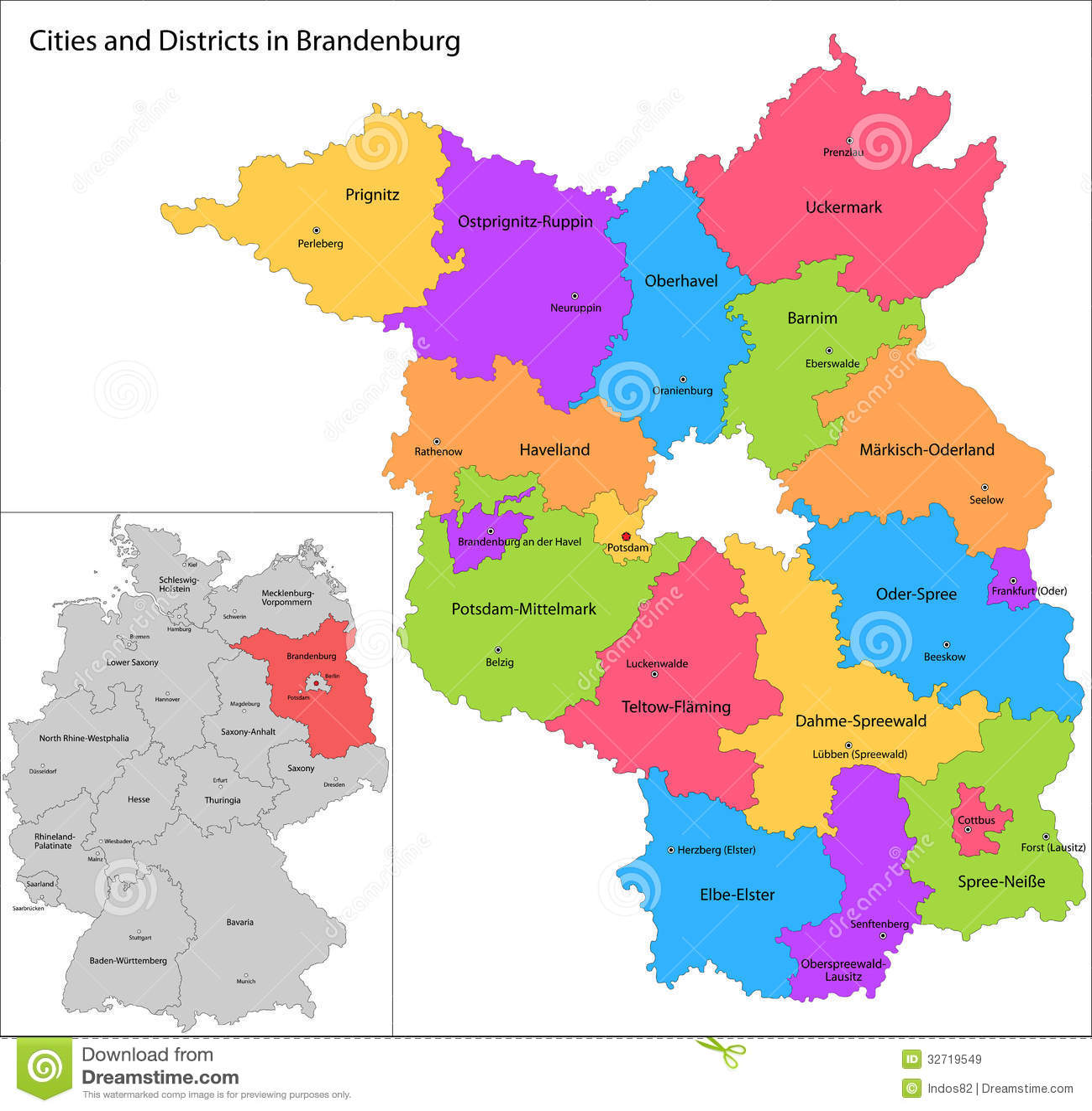 德国-勃兰登堡状态