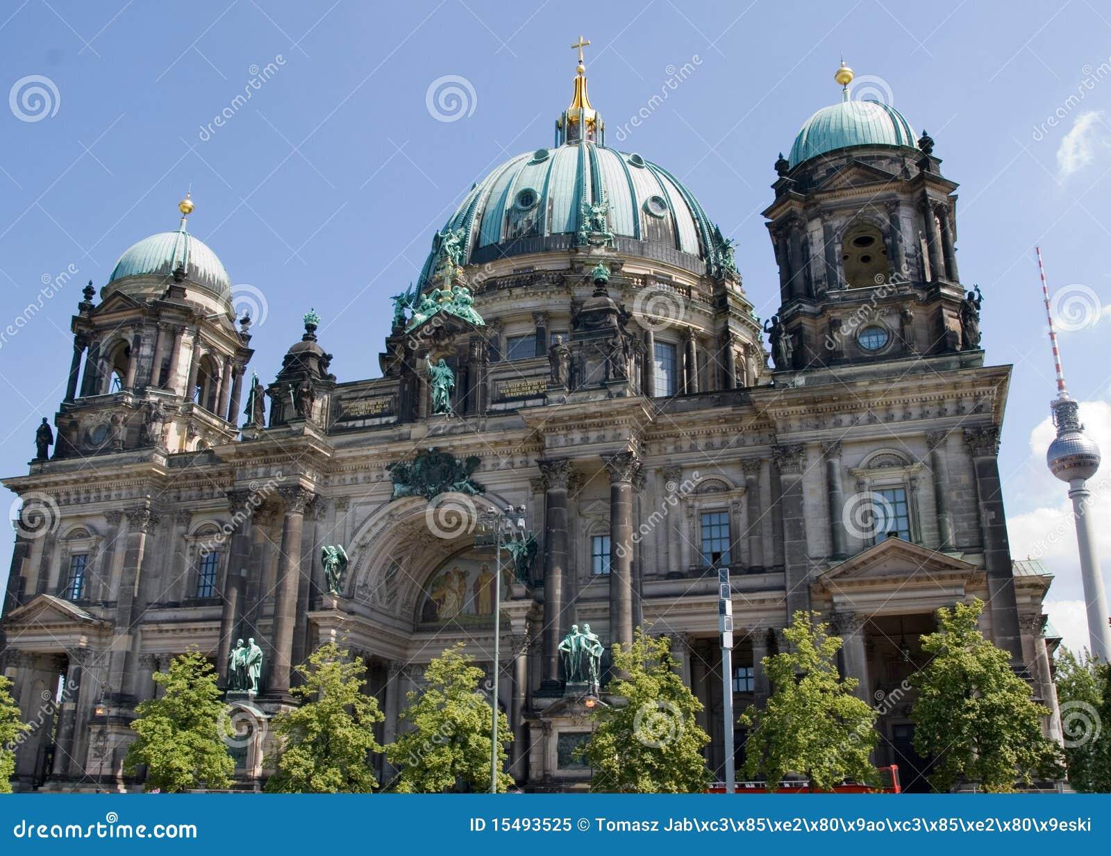德语柏林柏林大教堂的dom