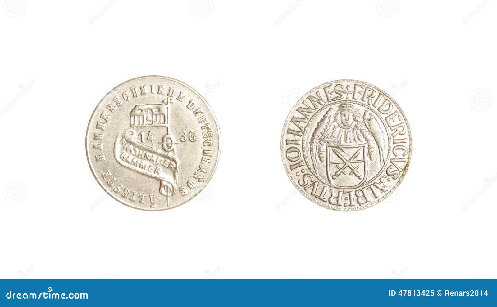 德语铸造葡萄酒1436银被隔绝的iohannes fridericus