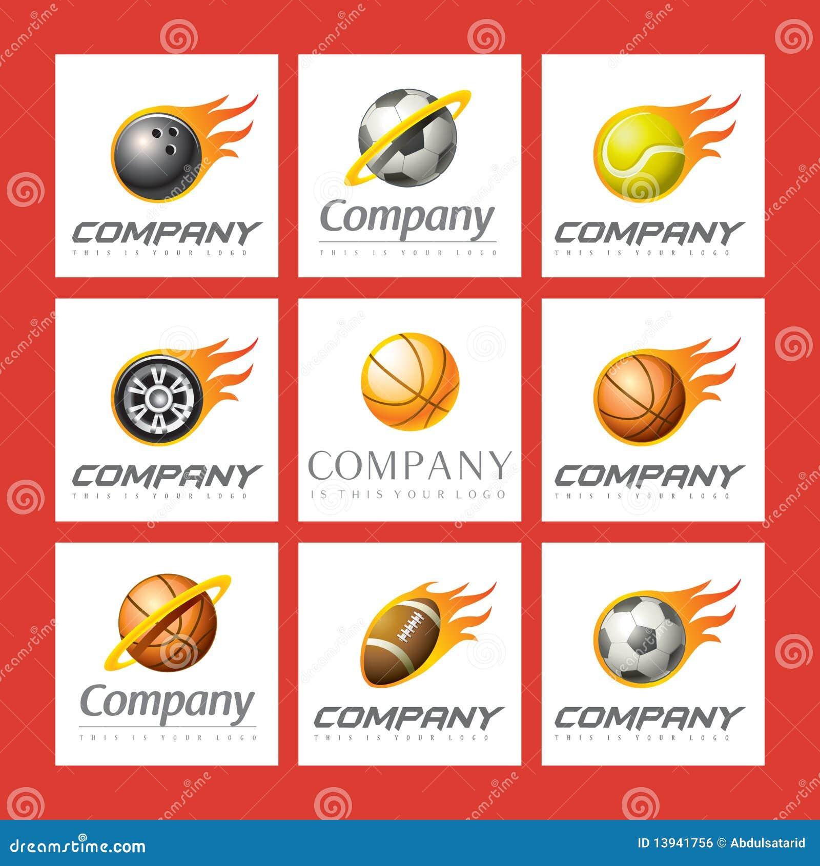 徽标被设置的体育运动