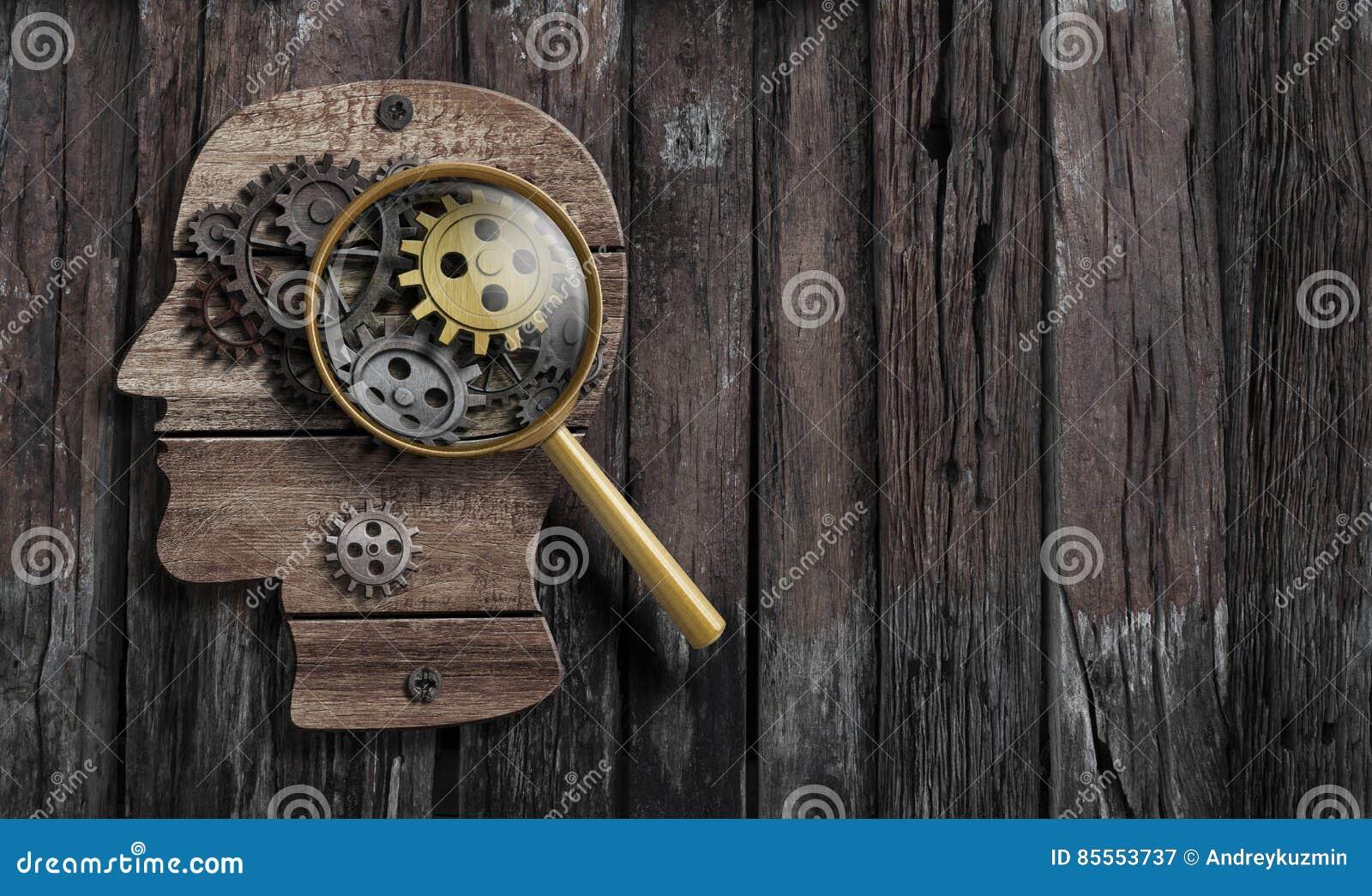 心理学或发明构想 脑子作用模型