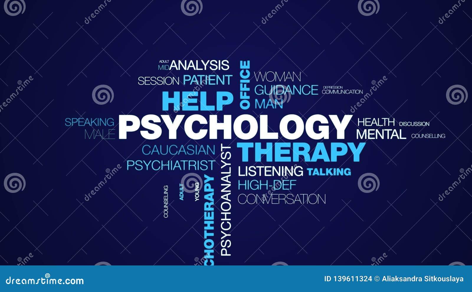 心理学疗法帮助办公室心理学家精神病学女性治疗师忠告精神疗法专业生气蓬勃的词