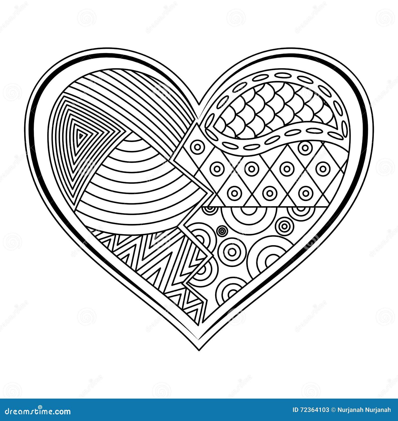 心脏形状纹身花刺装饰品