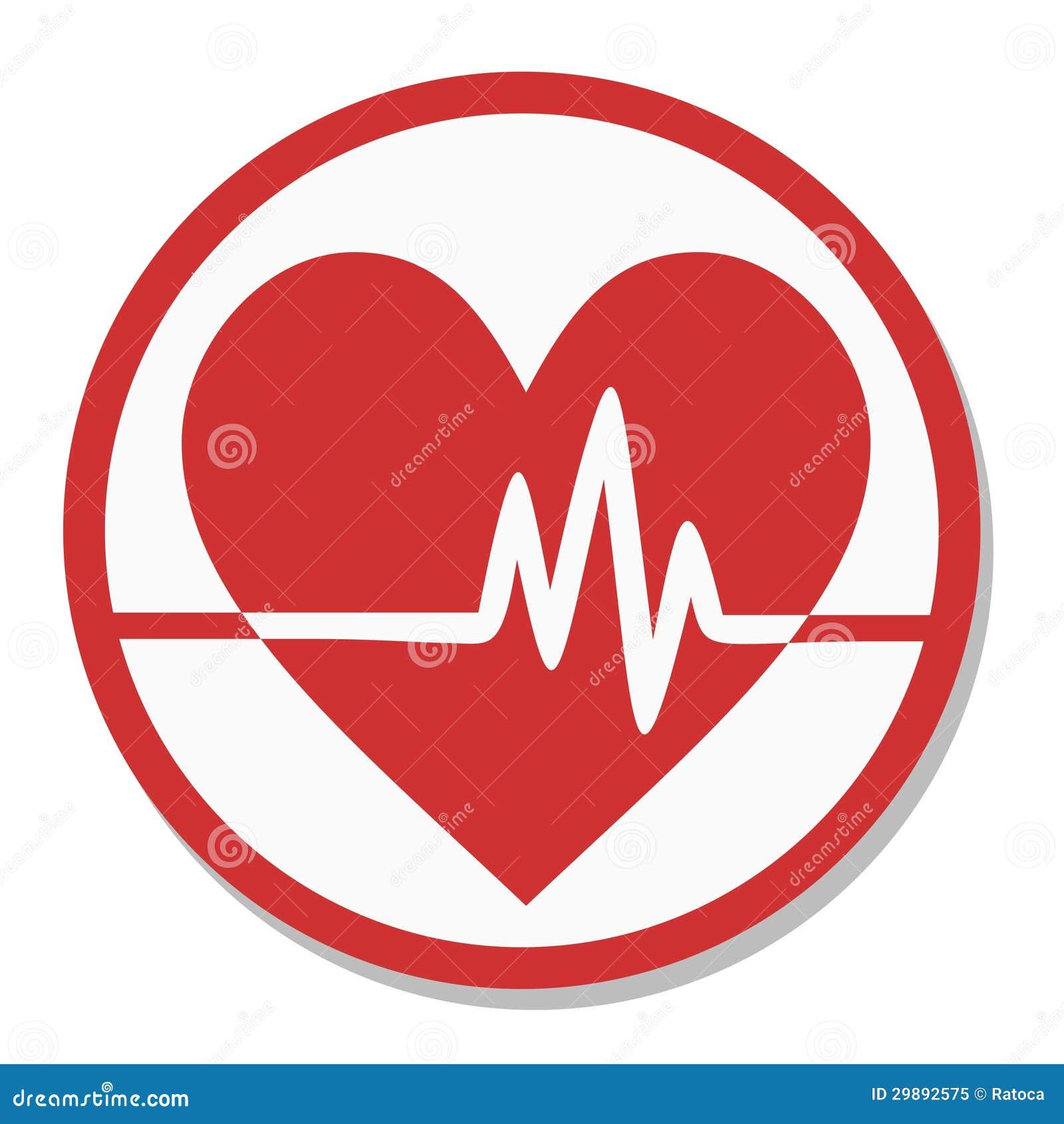 心脏标记脉冲图片