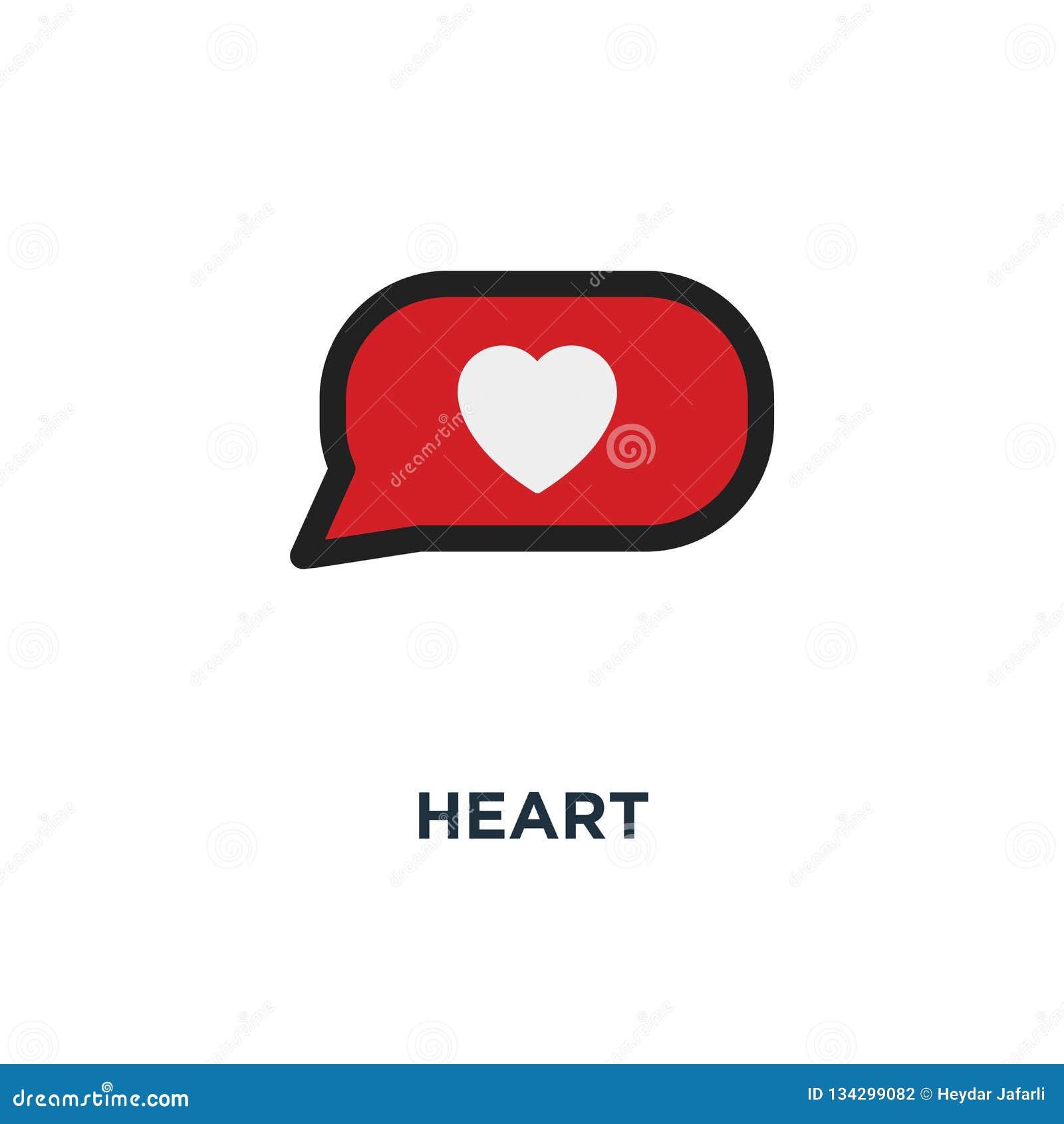 心脏红色象象 爱概念标志设计,collec的标志