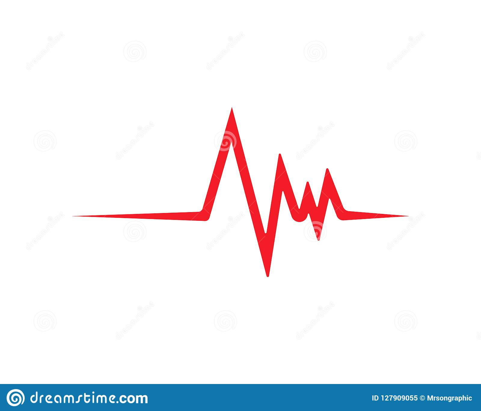 心跳线传染媒介模板