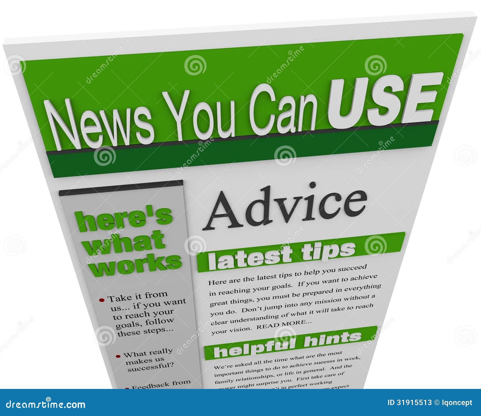 忠告电子业务通信技巧提示支持想法时事通讯