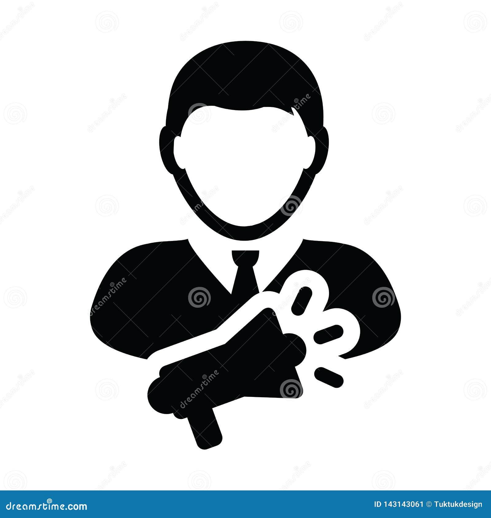 忠告象传染媒介男性收养外形与扩音机的具体化标志在纵的沟纹图表的促进的