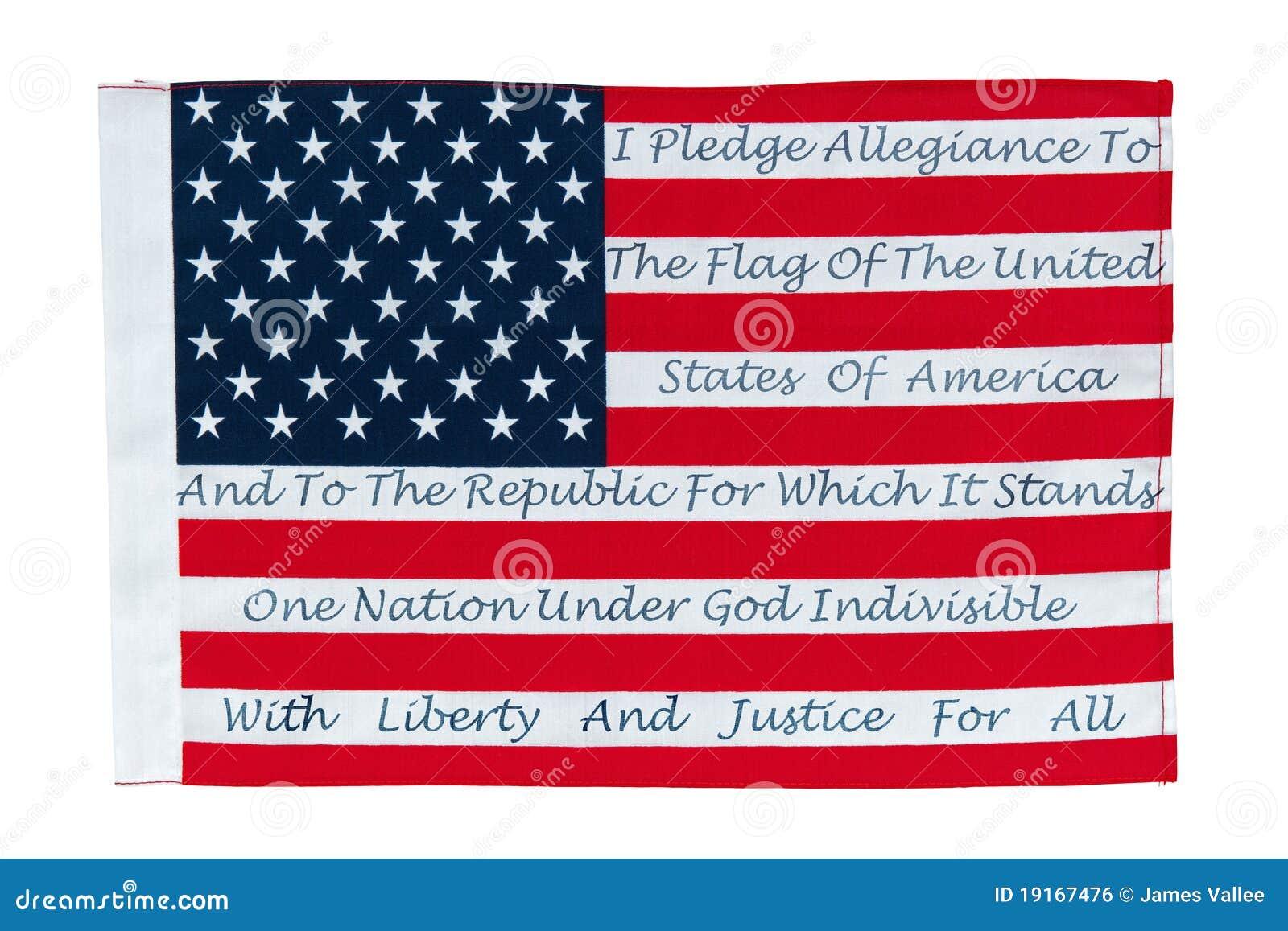 忠诚美国国旗承诺