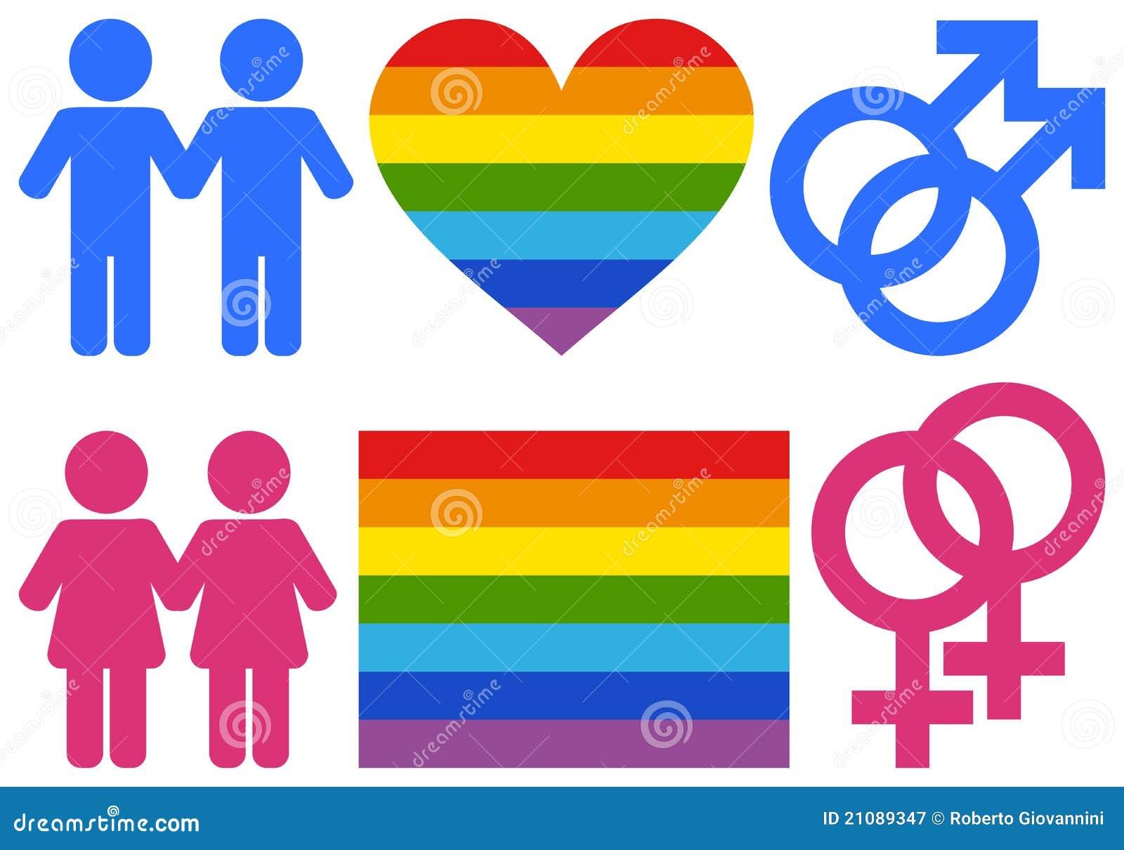 快乐女同性恋的符号