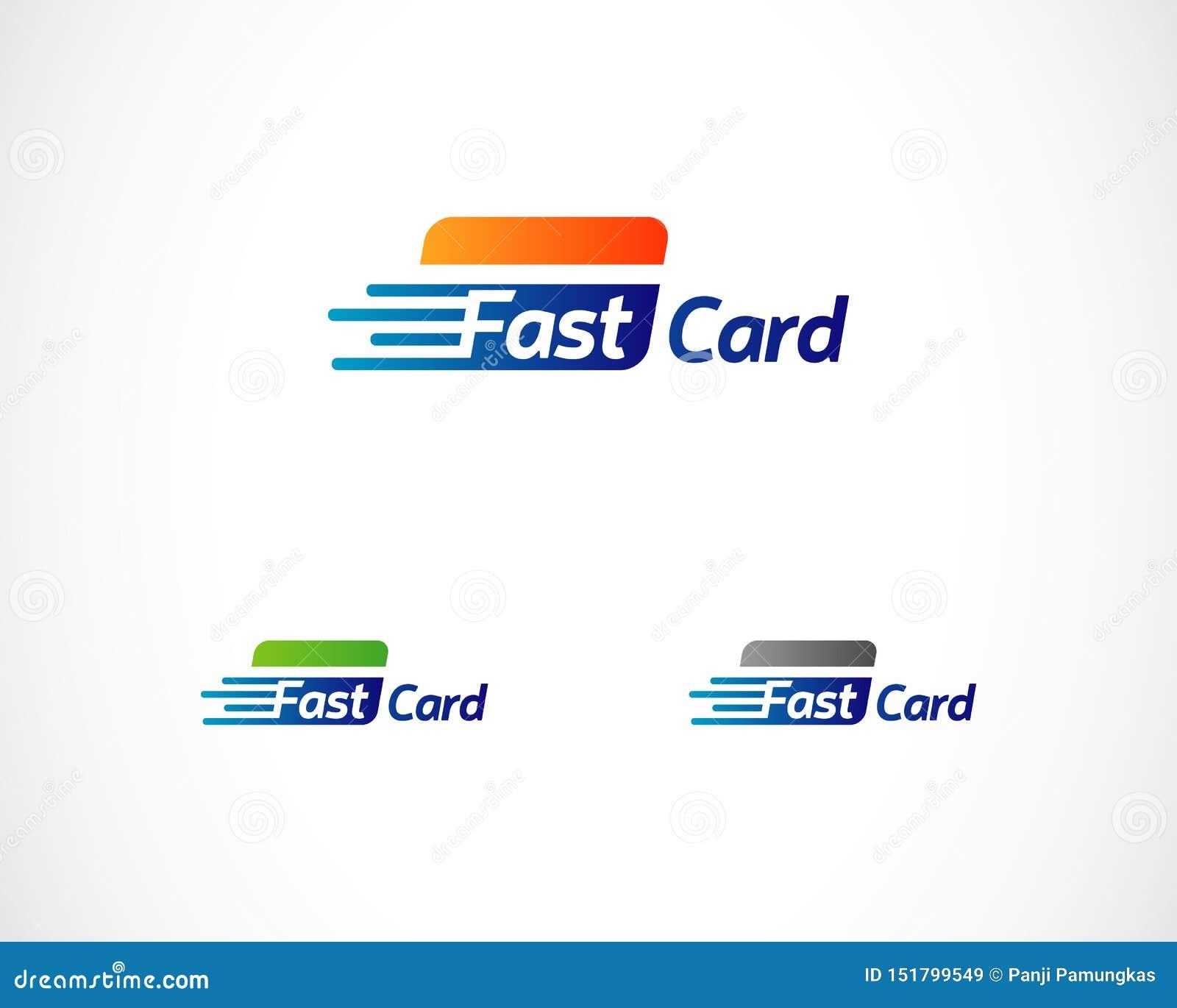 快速的卡片付款技术商标标志标志象