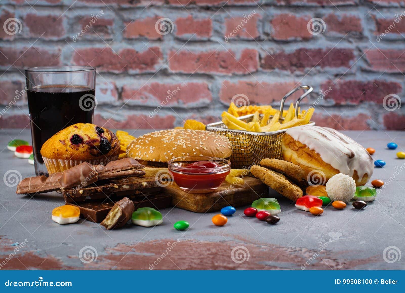 快速的碳水化合物食物