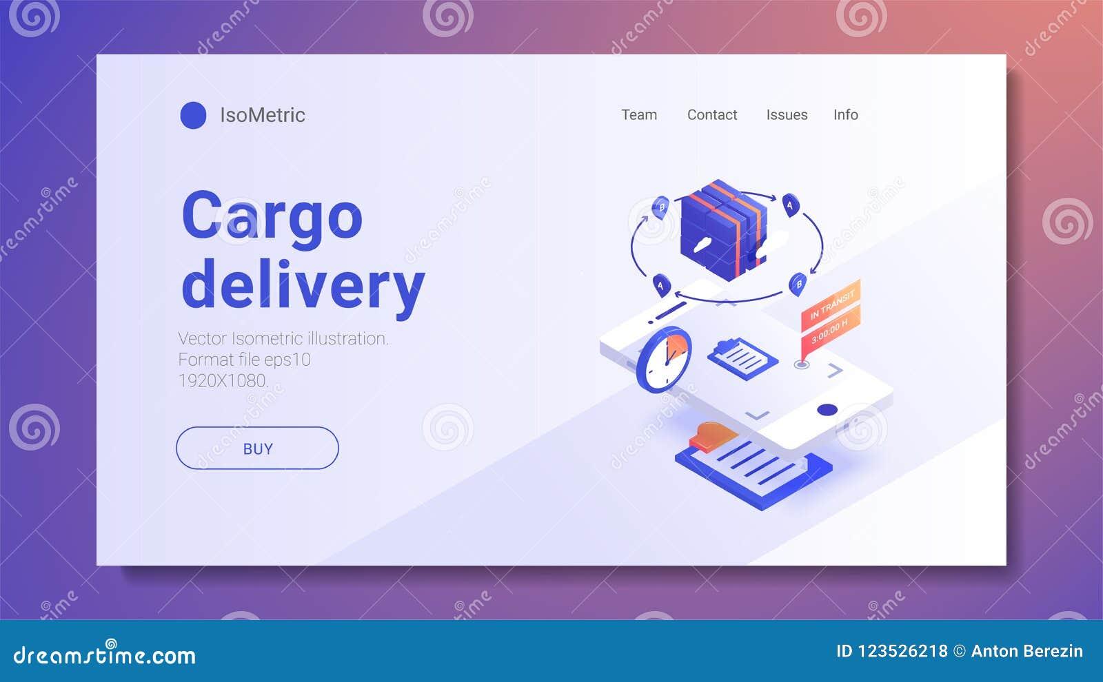快速的送货业务和电子商务概念