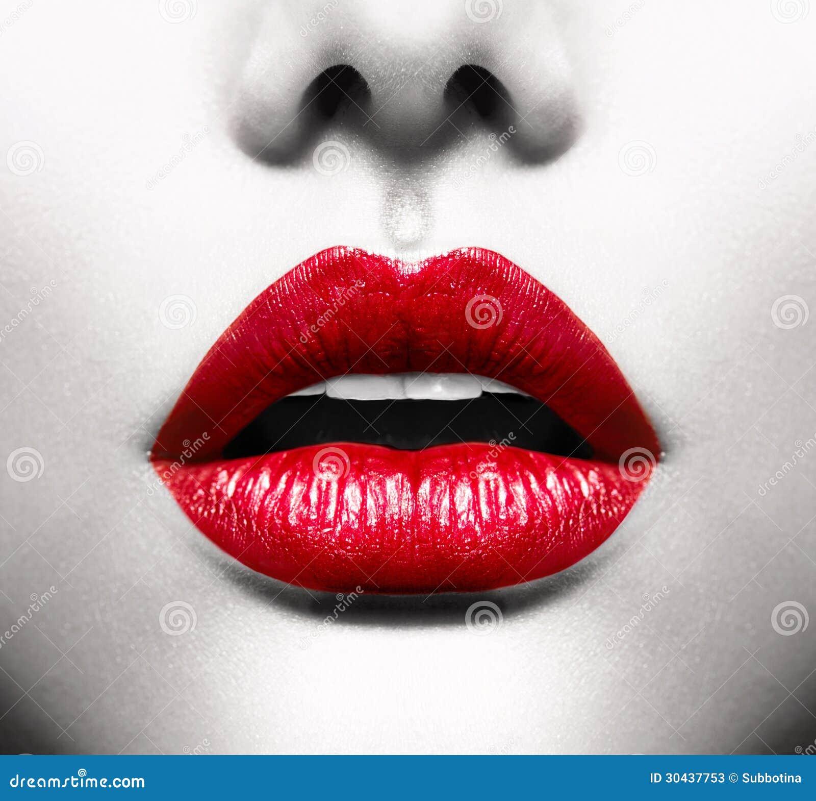 性感的嘴唇