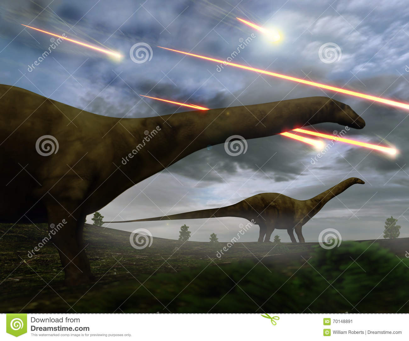恐龙流星雨的绝种