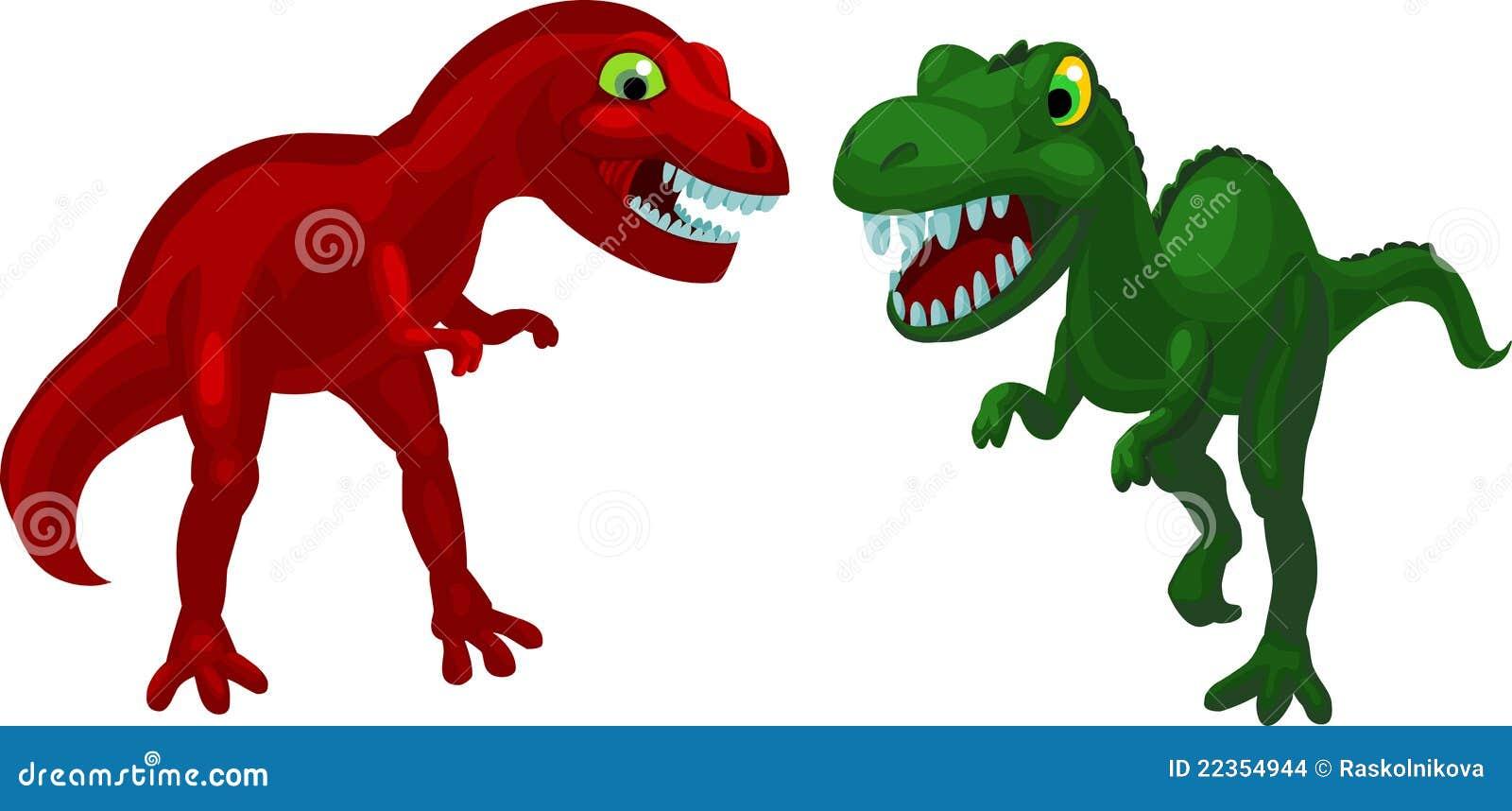 恼怒的恐龙二