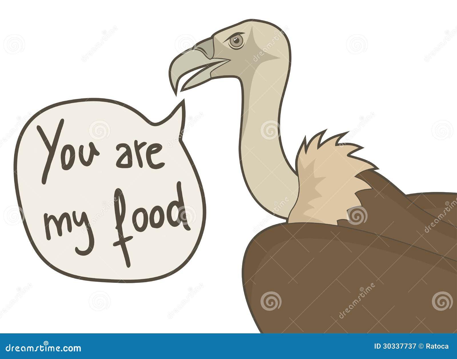 您是我的食物