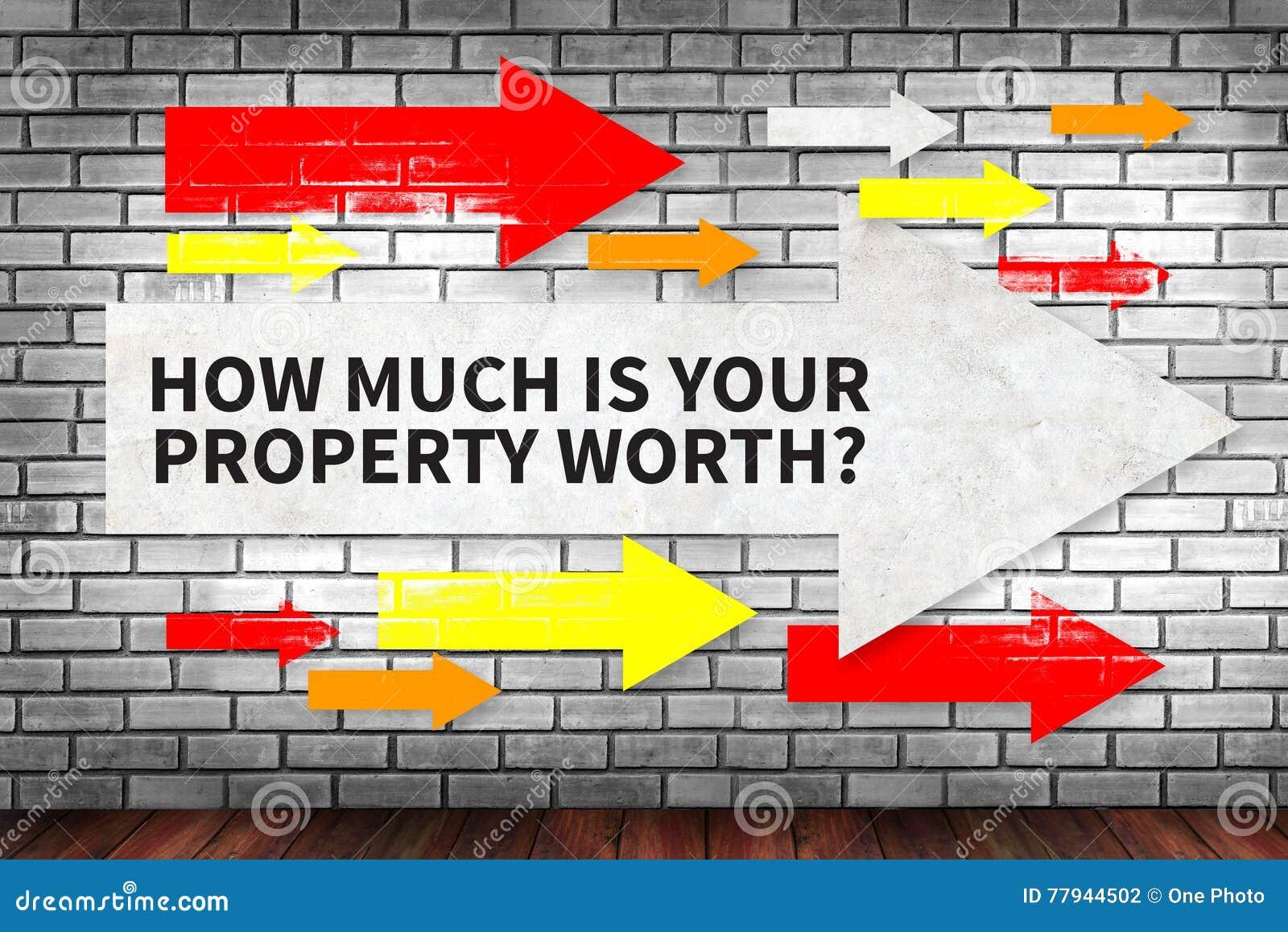 您的物产价值是多少?