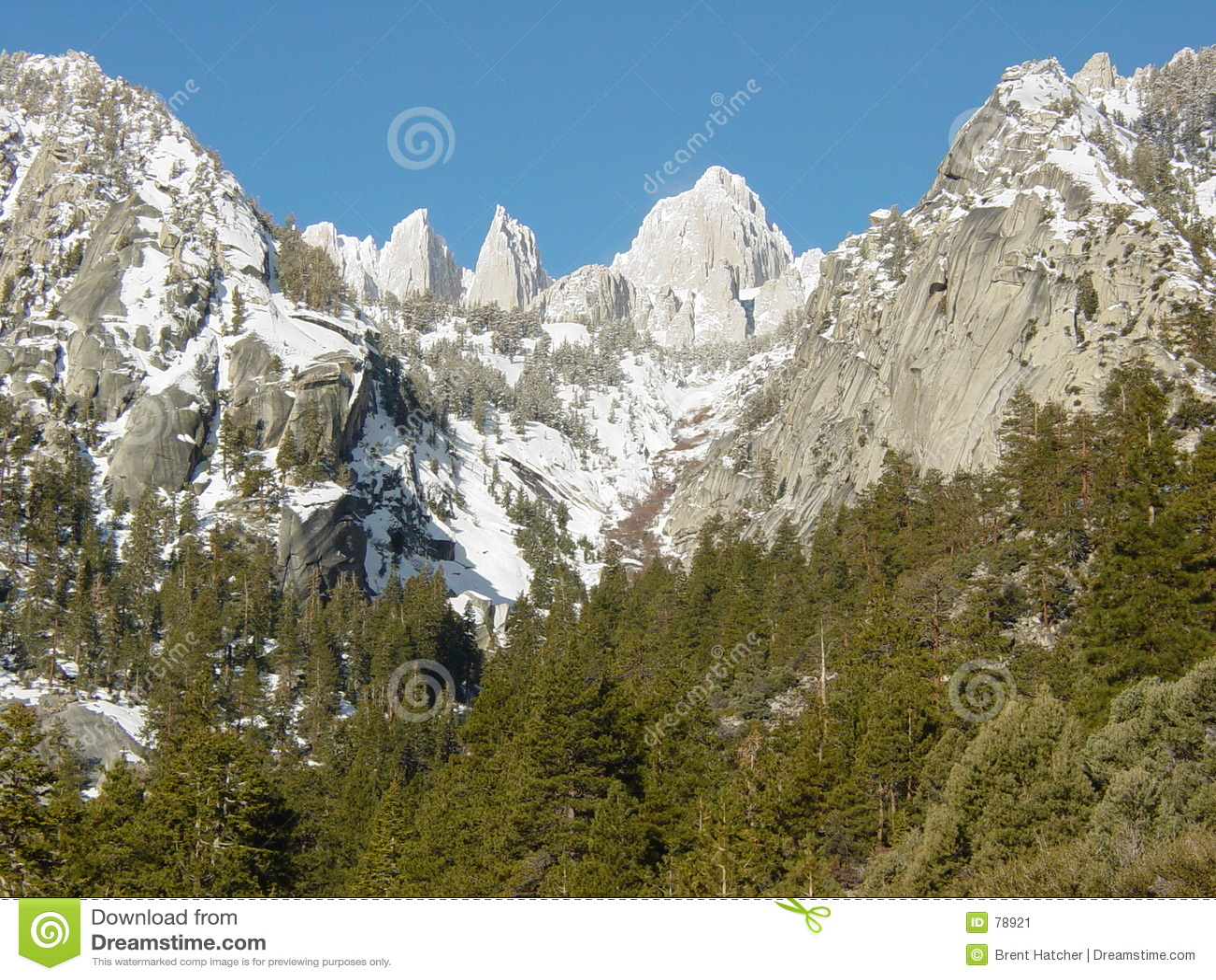 惠特尼山脉