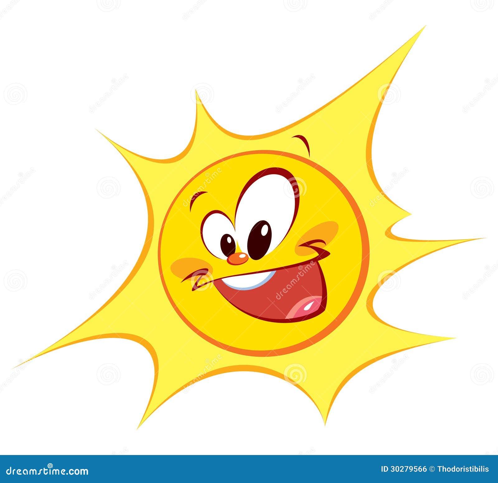 愉快的太阳(色的概述)