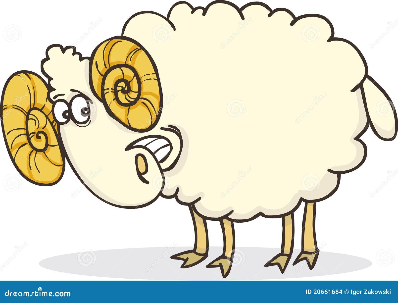 愉快的公羊