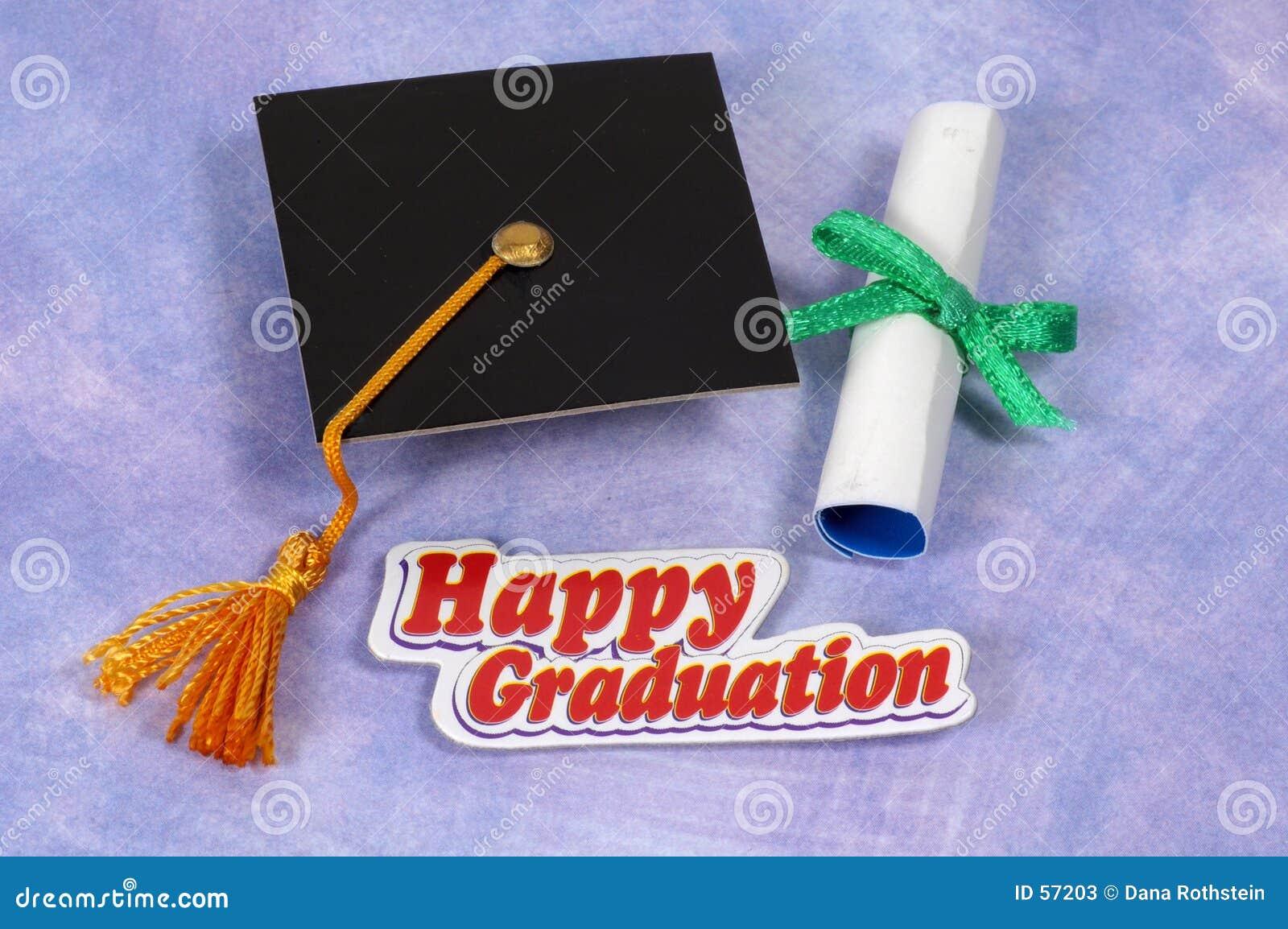 愉快的毕业