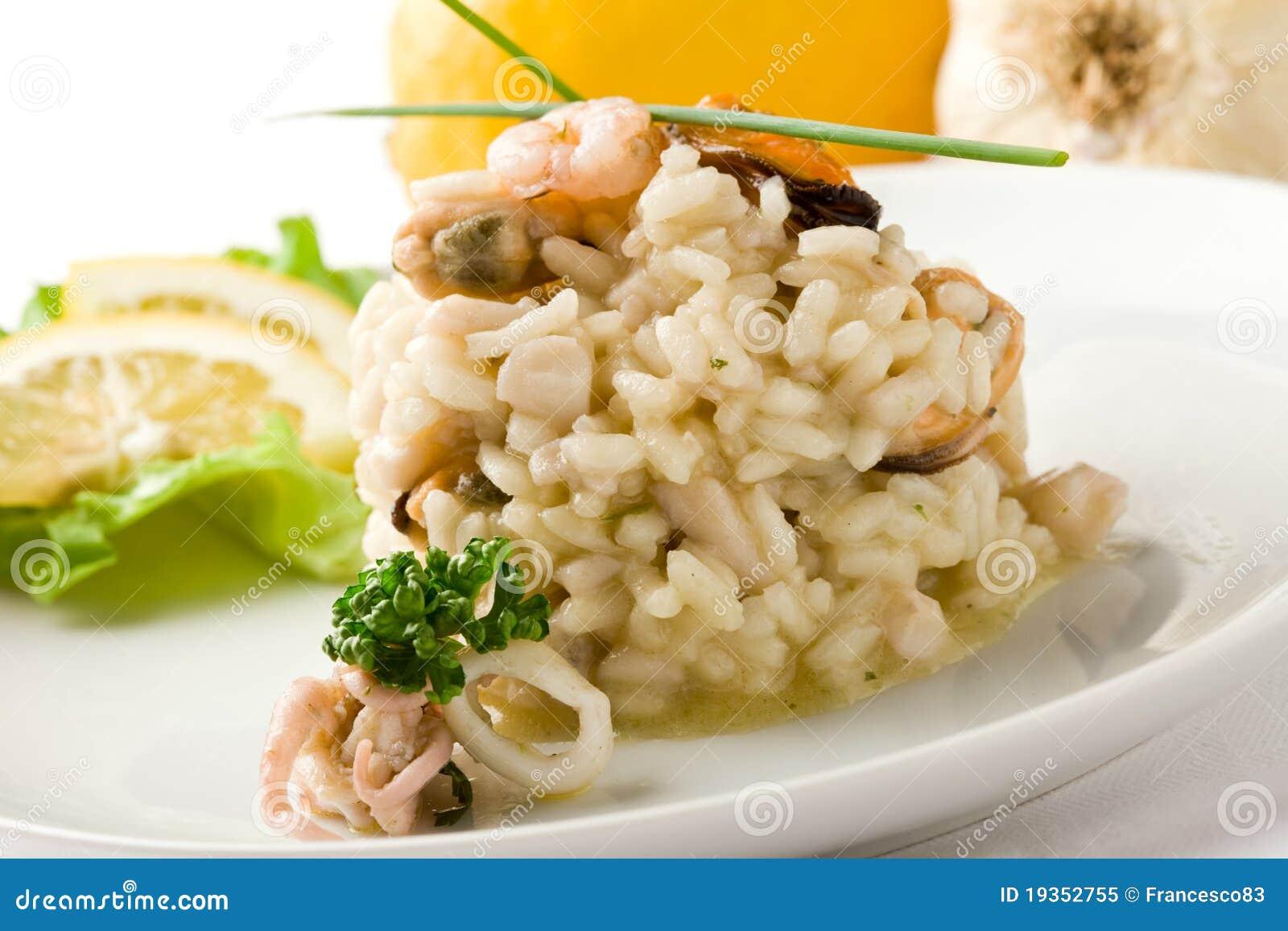 意大利煨饭海鲜