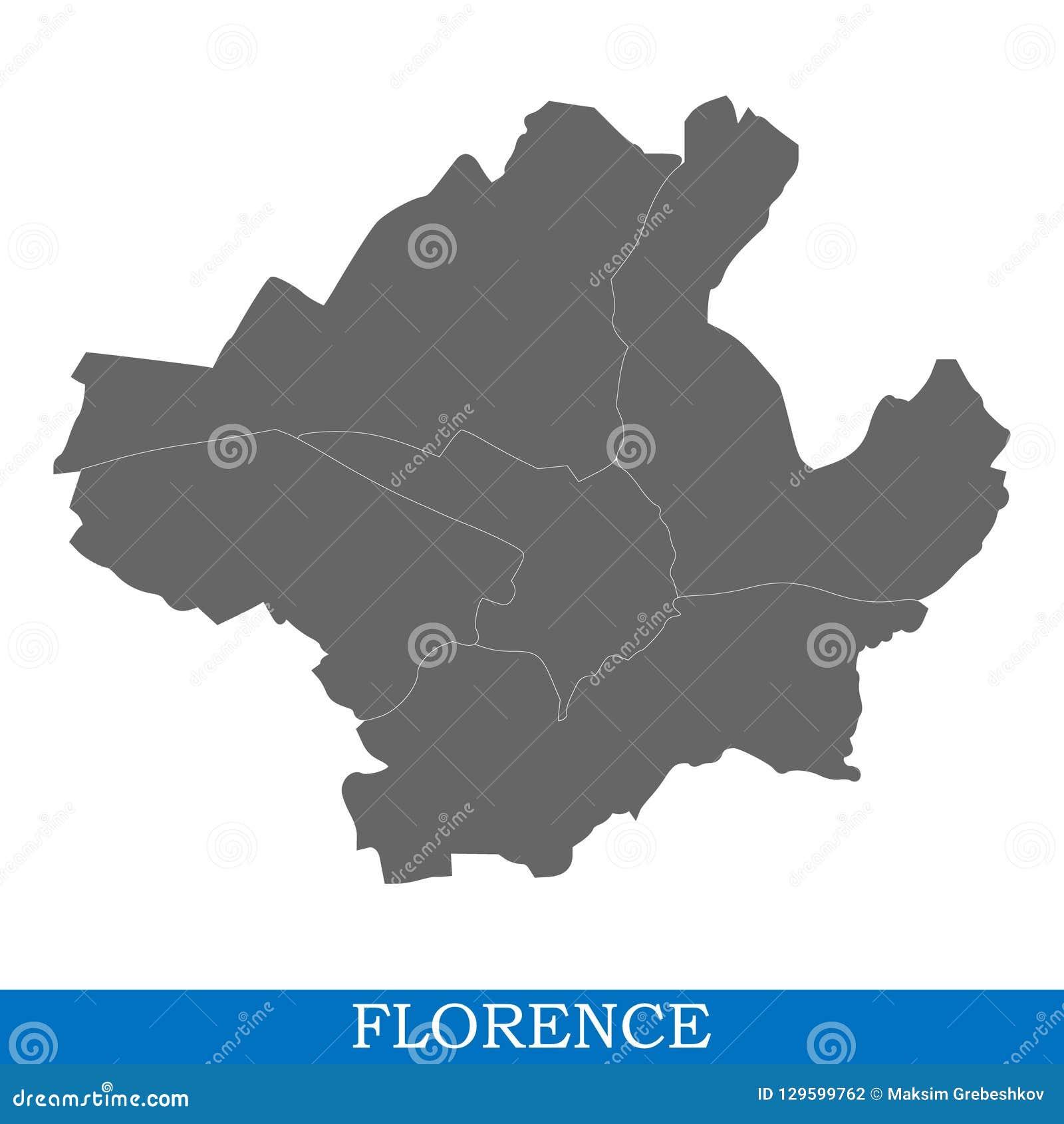 意大利的优质地图