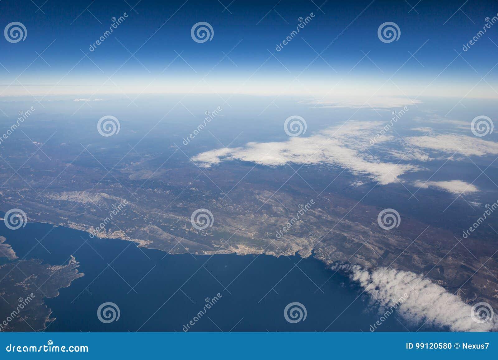 意大利的鸟瞰图