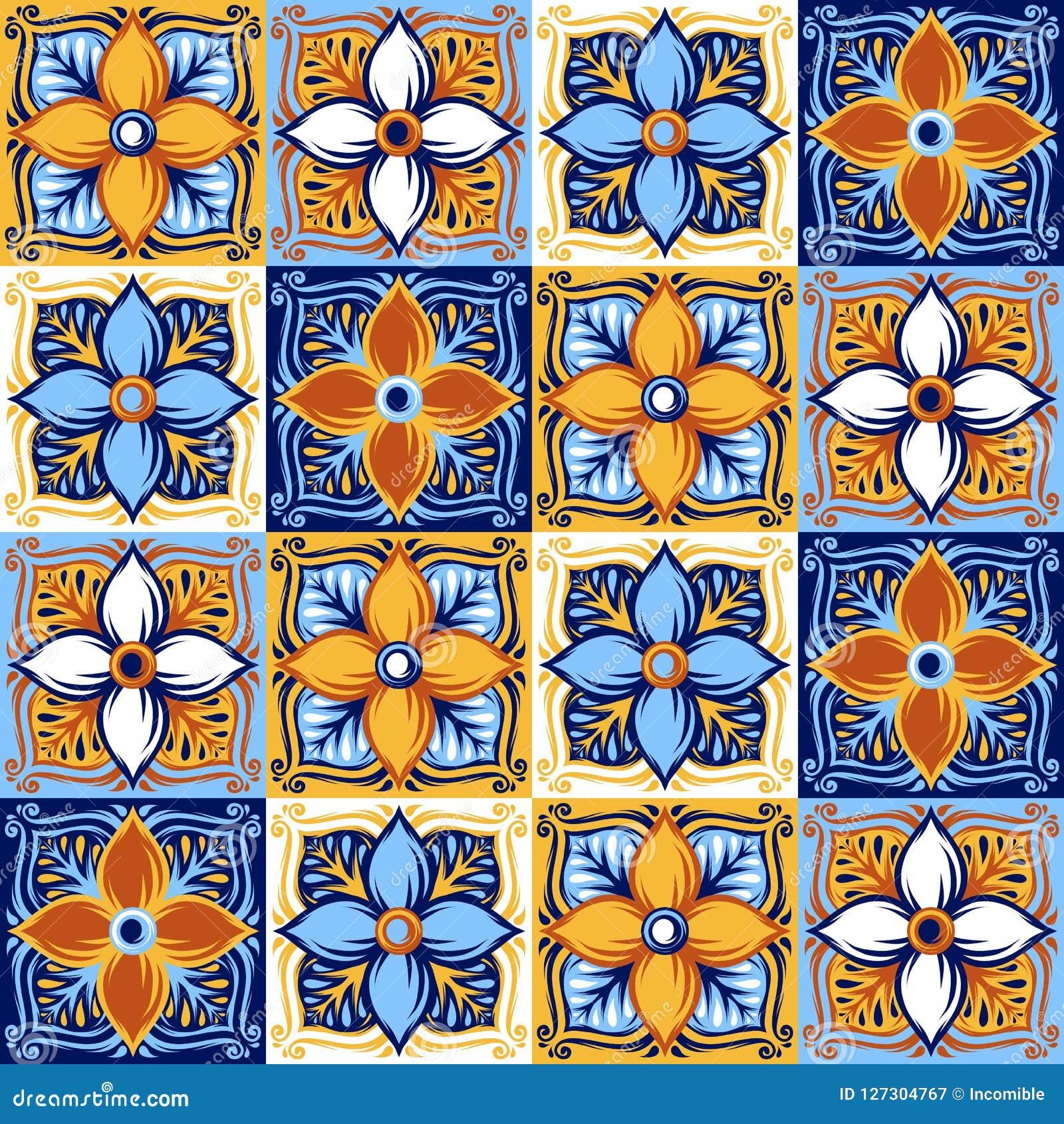 意大利陶瓷砖样式 种族民间装饰品