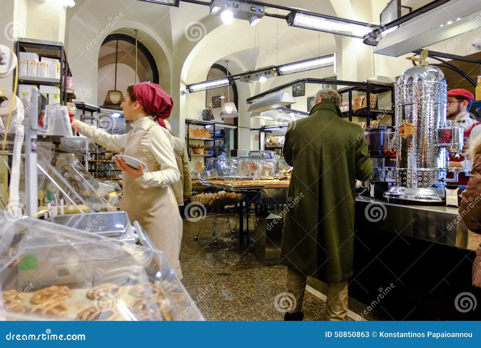 意大利面包店