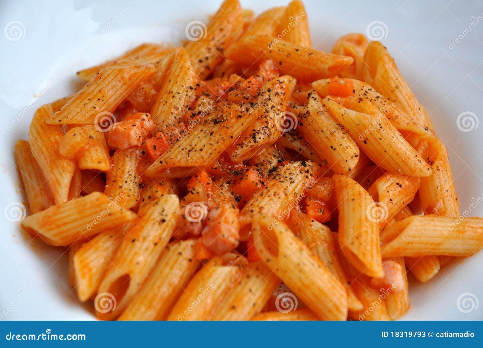 意大利面食蕃茄