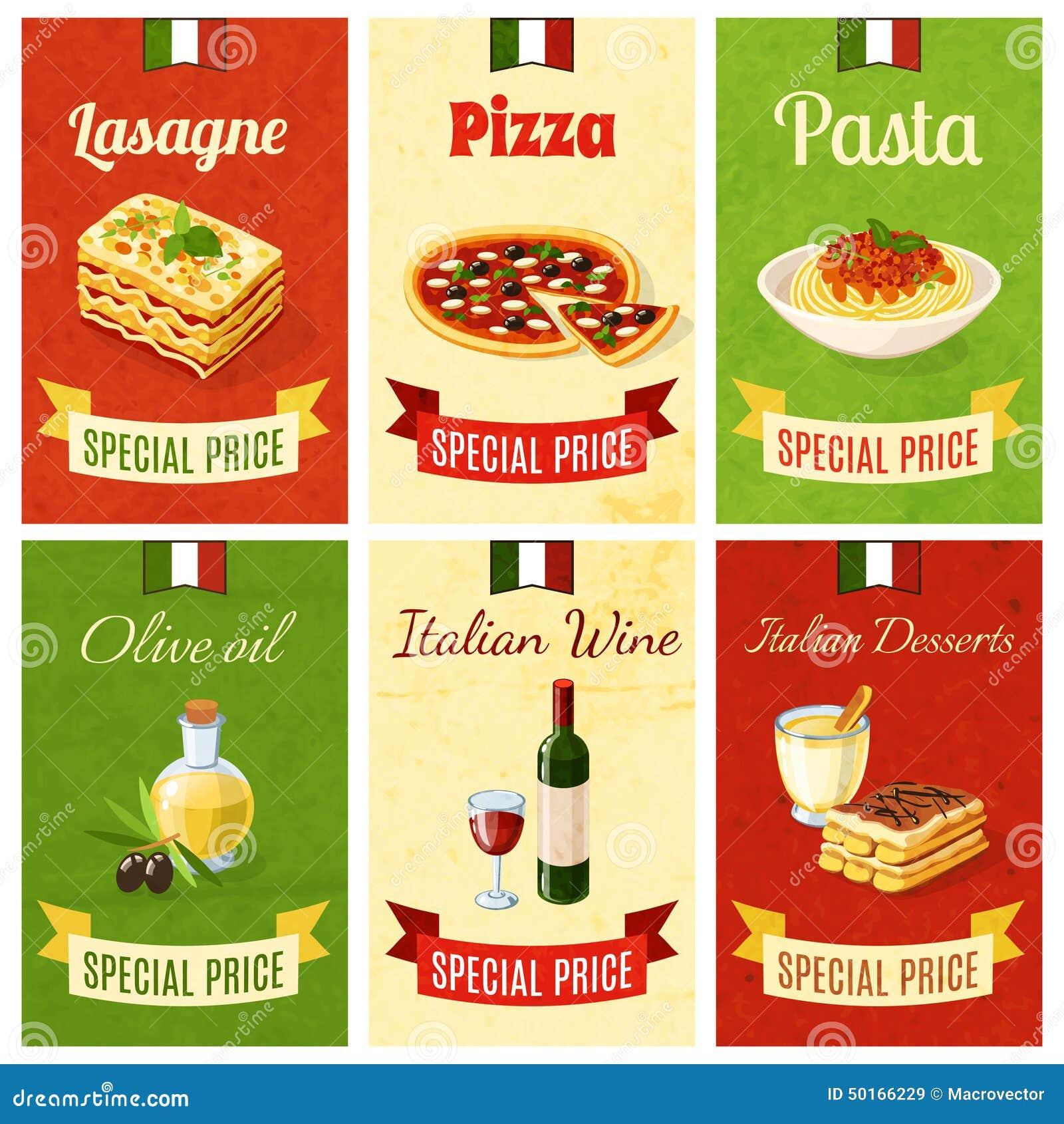 意大利食物微型海报