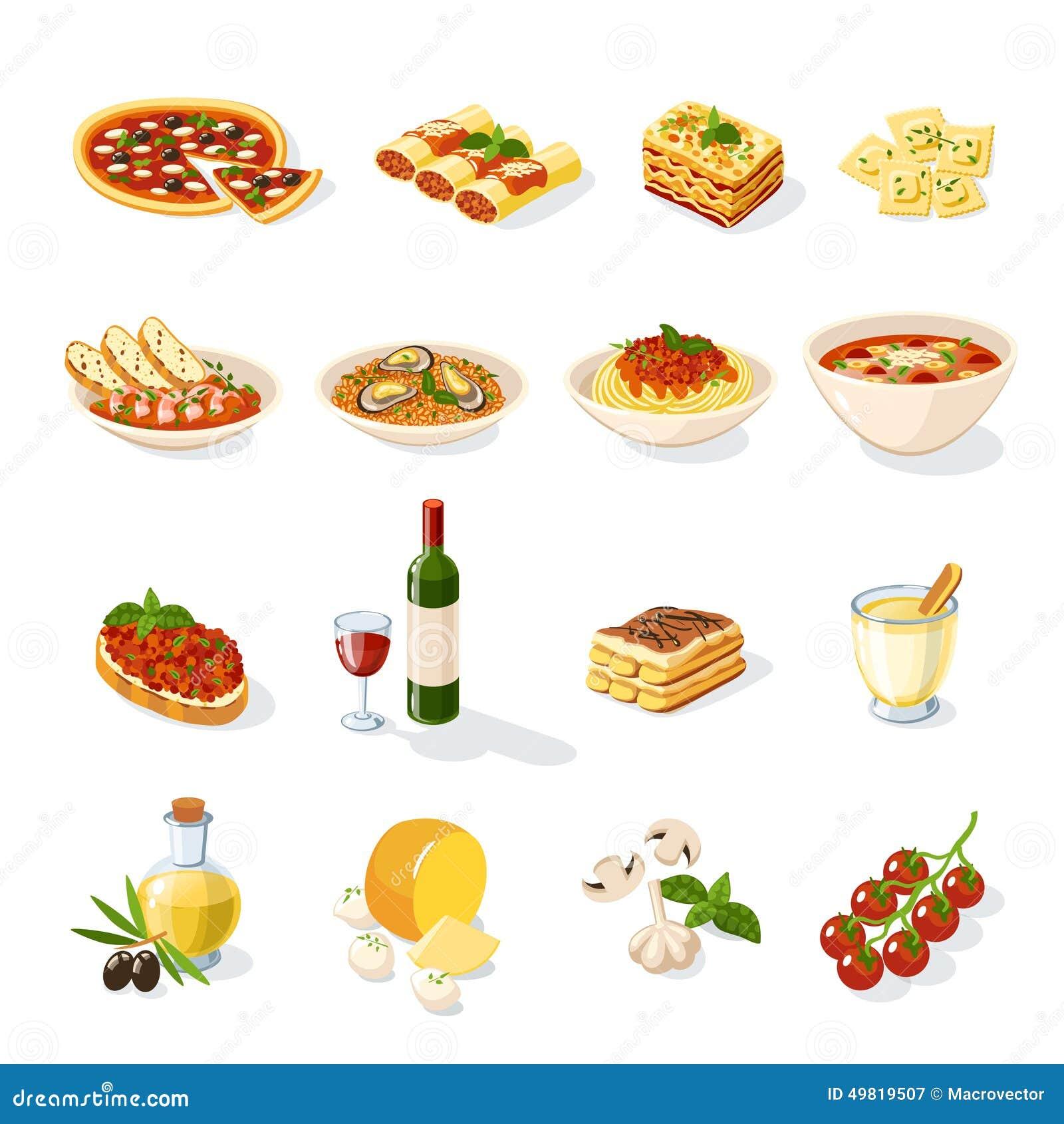意大利食物集合
