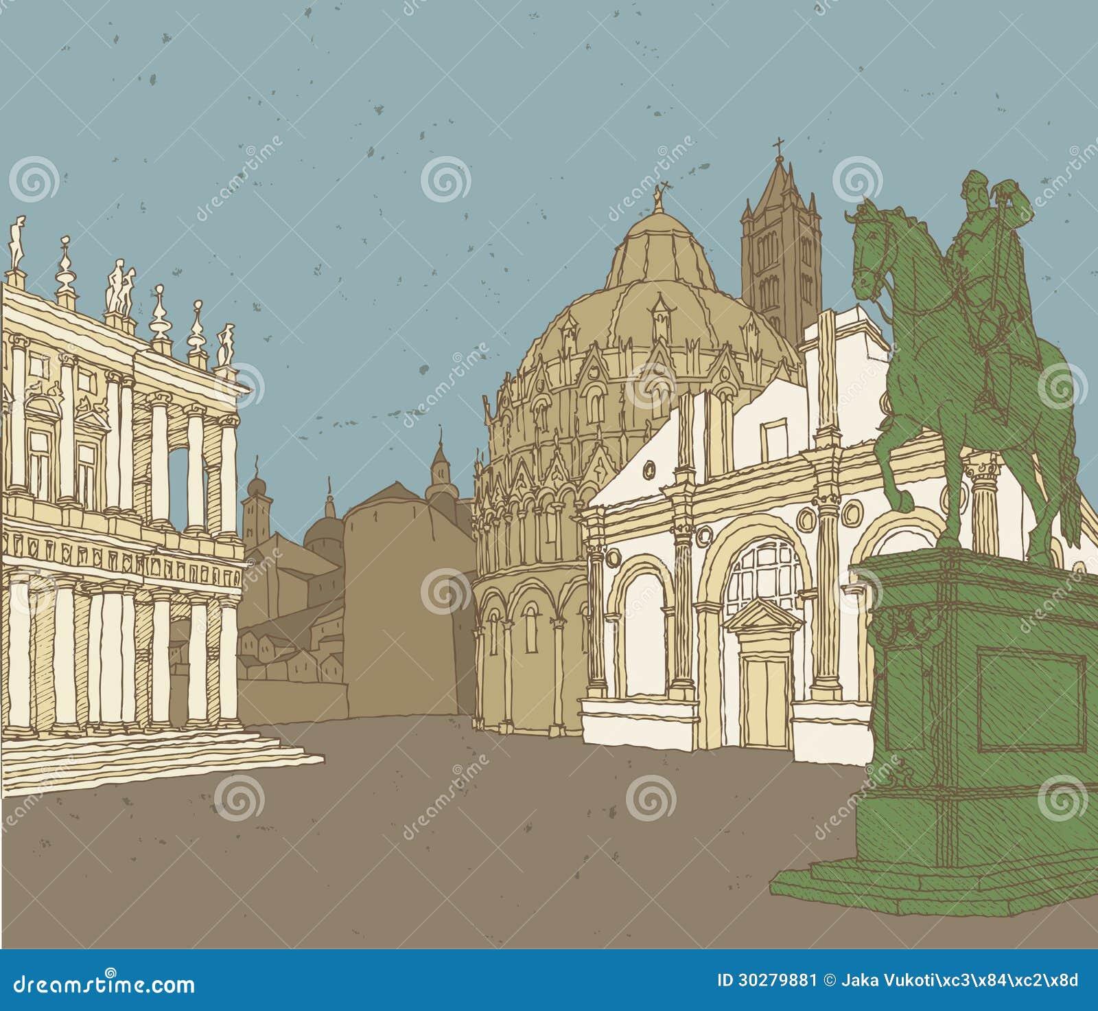 意大利建筑学的构成