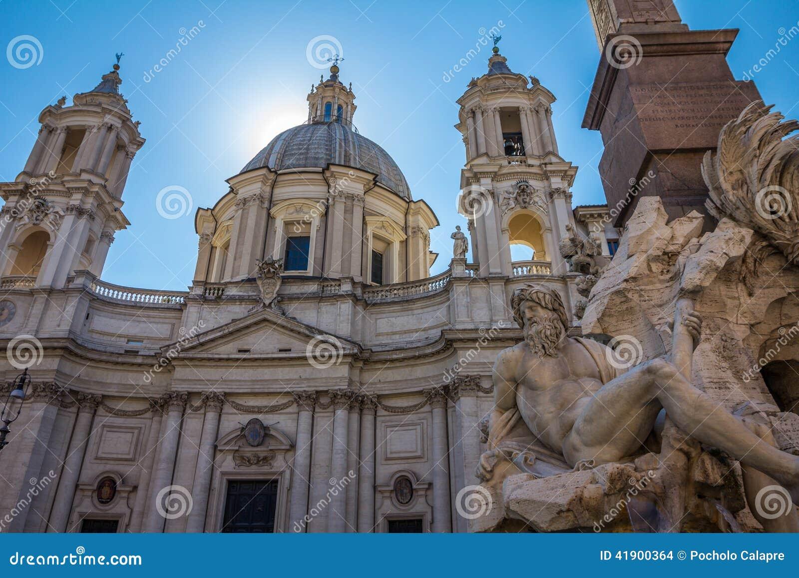 意大利navona广场罗马