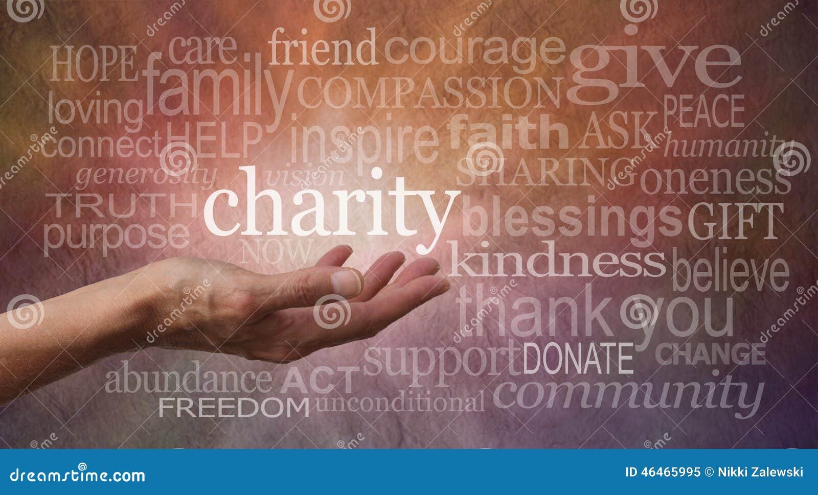 慈善词墙壁横幅
