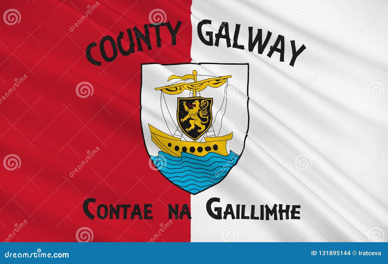戈尔韦郡旗子是爱尔兰的西方的一个县