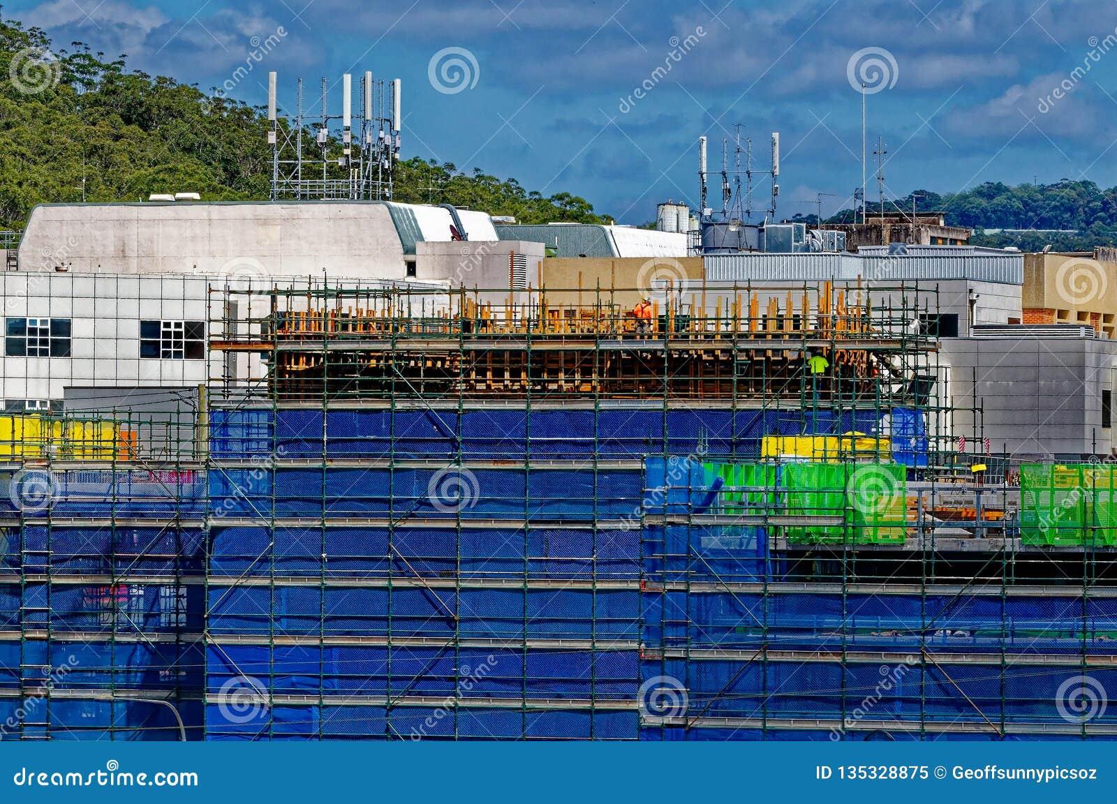 戈斯福德医院大厦进展H59ed 2018年10月