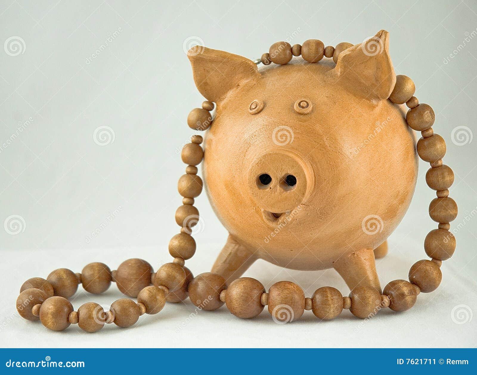 成串珠状猪