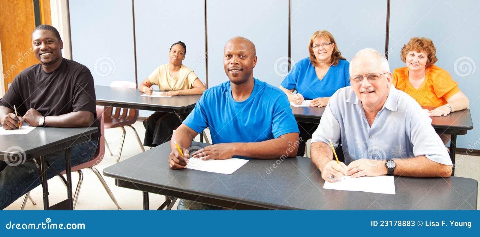 成人横幅分集教育