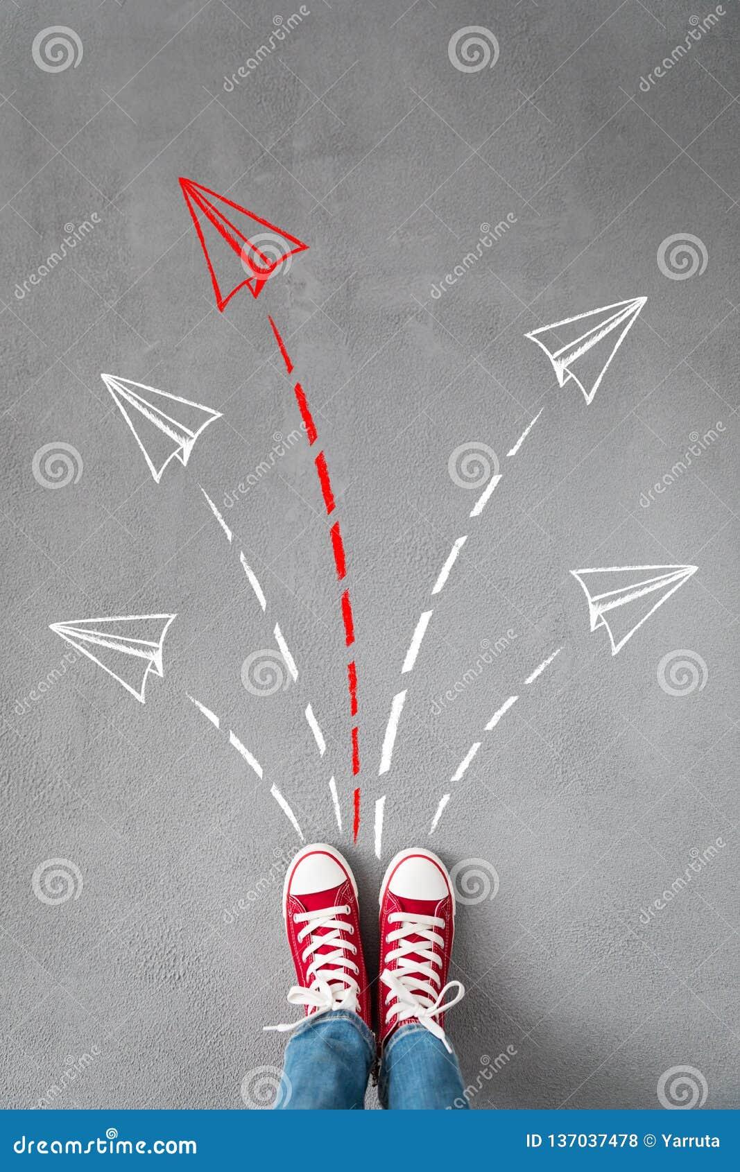 成功,创造性和想法概念